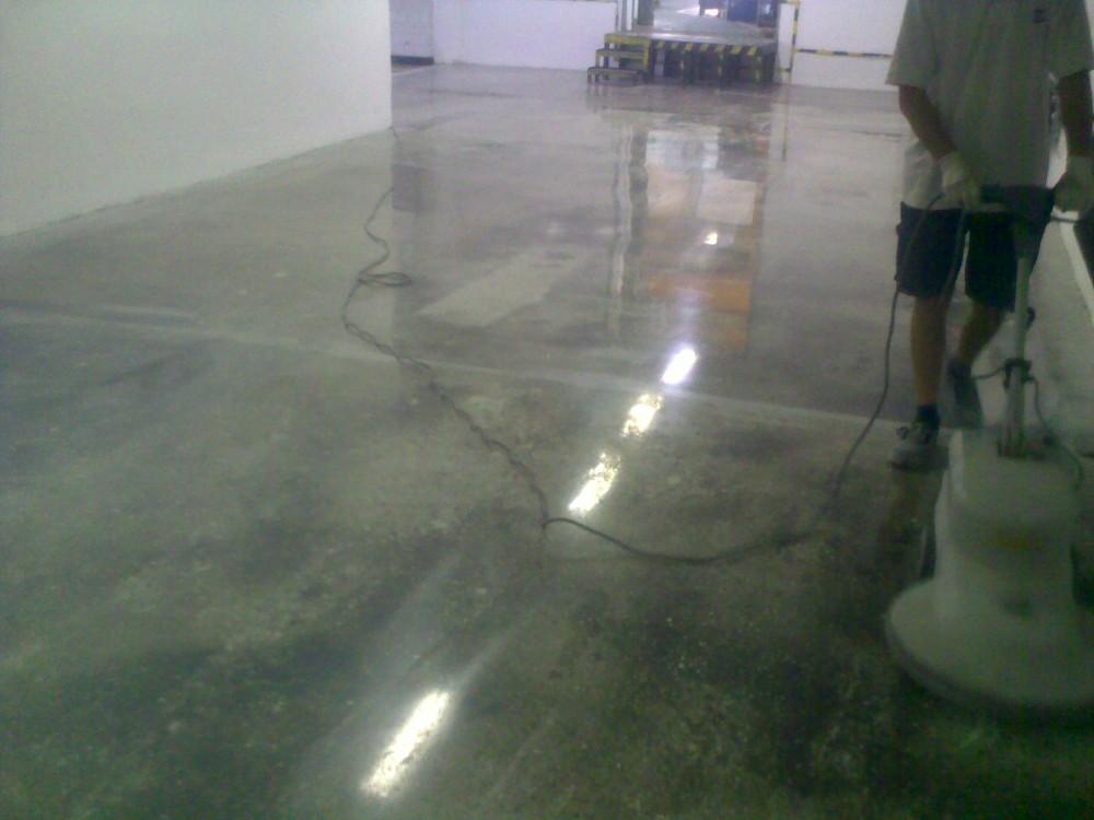betonpolírozás