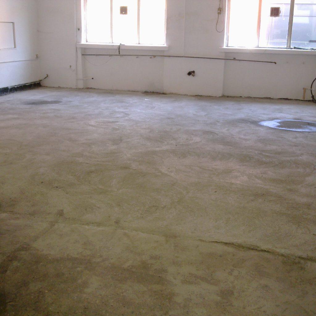 rossz felületű beton