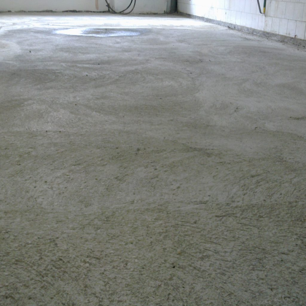 Csiszolt beton lakásba